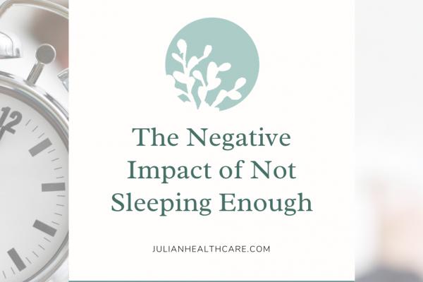Impact of not sleeping enough